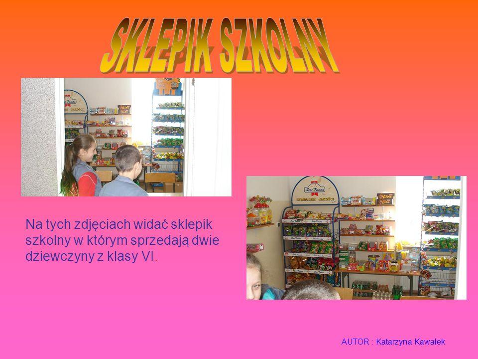 Na tych zdjęciach widać sklepik szkolny w którym sprzedają dwie dziewczyny z klasy VI.