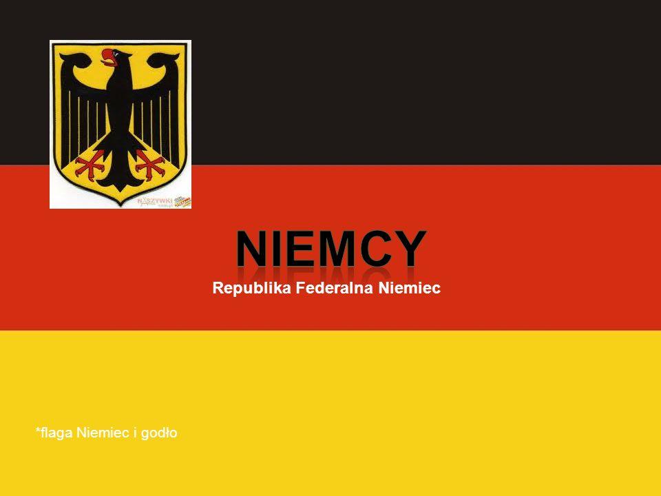 *flaga Niemiec i godło Republika Federalna Niemiec