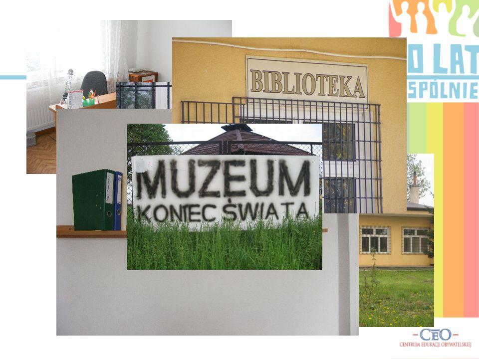 Niedługo po powstaniu biblioteki, w grudniu 2007 roku powstało Muzeum Przyrodnicze Koniec Świata. Inicjatorem był Sebastian Sobowiec – nakręcony przyr