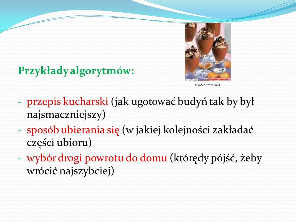 Przykład 1: Problem Dane: Liczba cukierków, które posiada Antek, liczba cukierków, które posiada Bronek, liczba cukierków, które posiada Czarek.