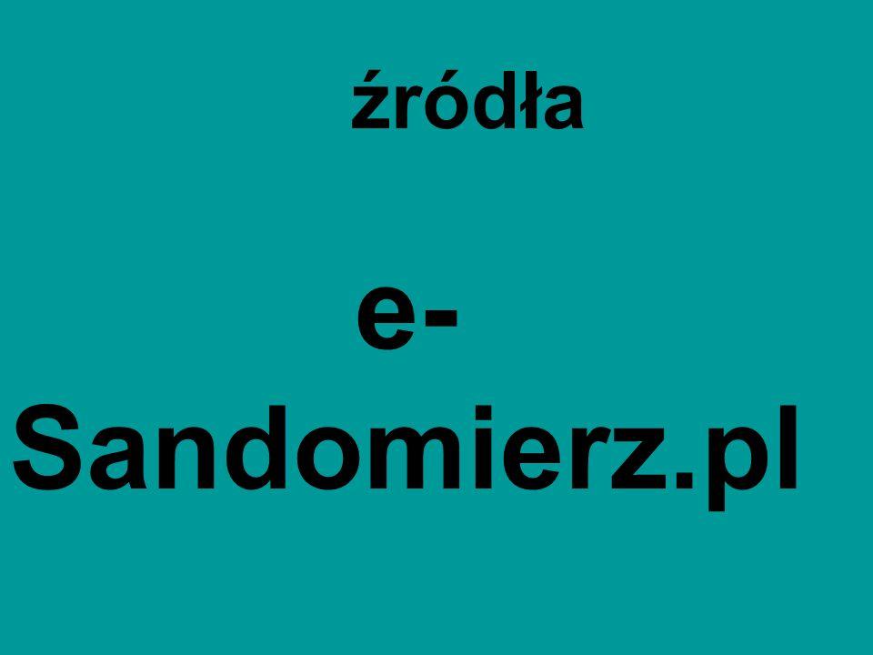 e- Sandomierz.pl źródła
