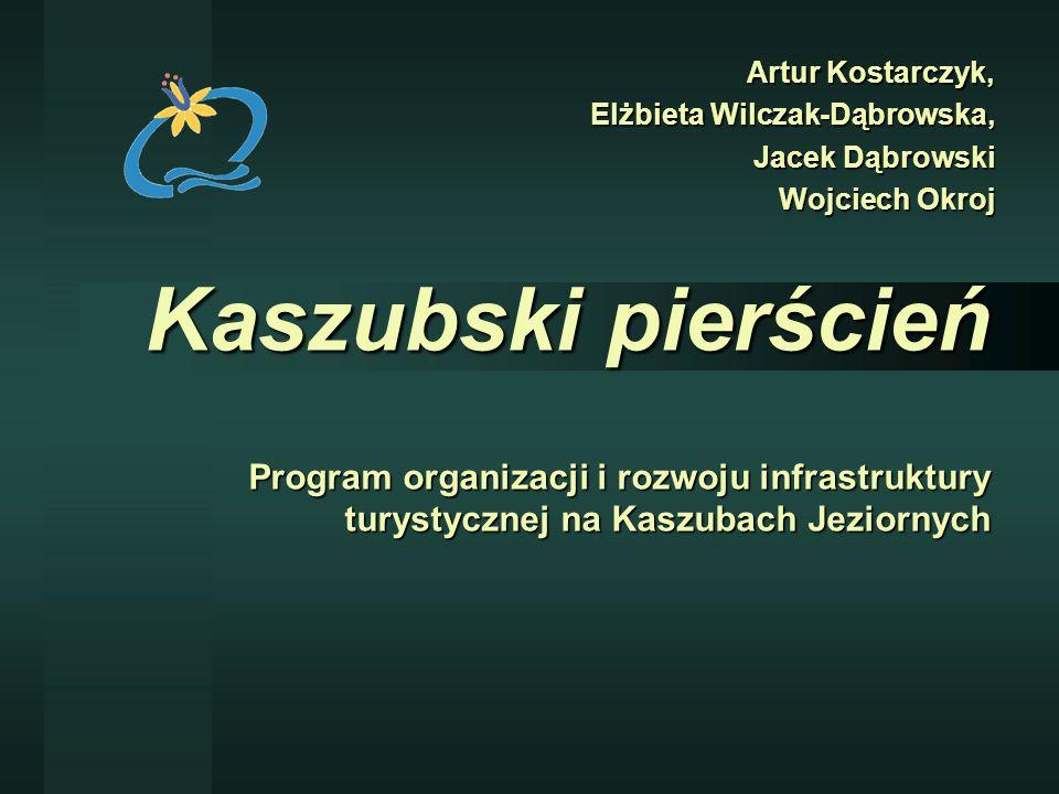 Kaszubski pierścień Program organizacji i rozwoju infrastruktury turystycznej na Kaszubach Jeziornych Artur Kostarczyk, Elżbieta Wilczak-Dąbrowska, Ja