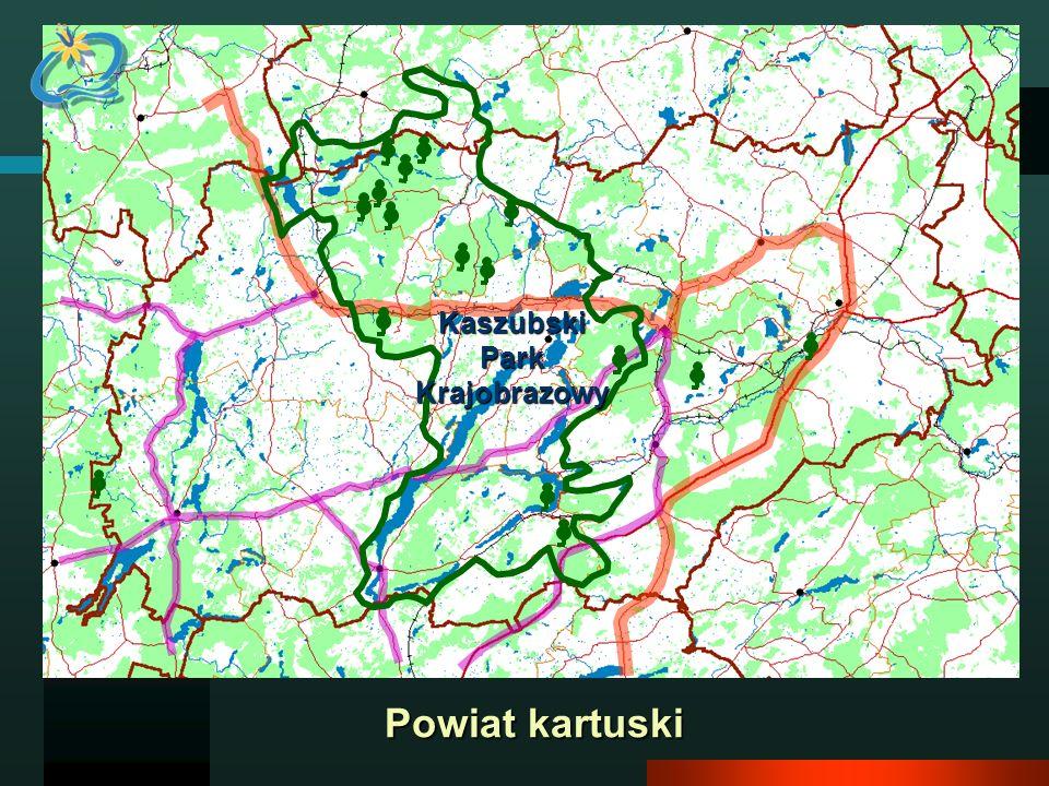 Powiat kartuski KaszubskiParkKrajobrazowy