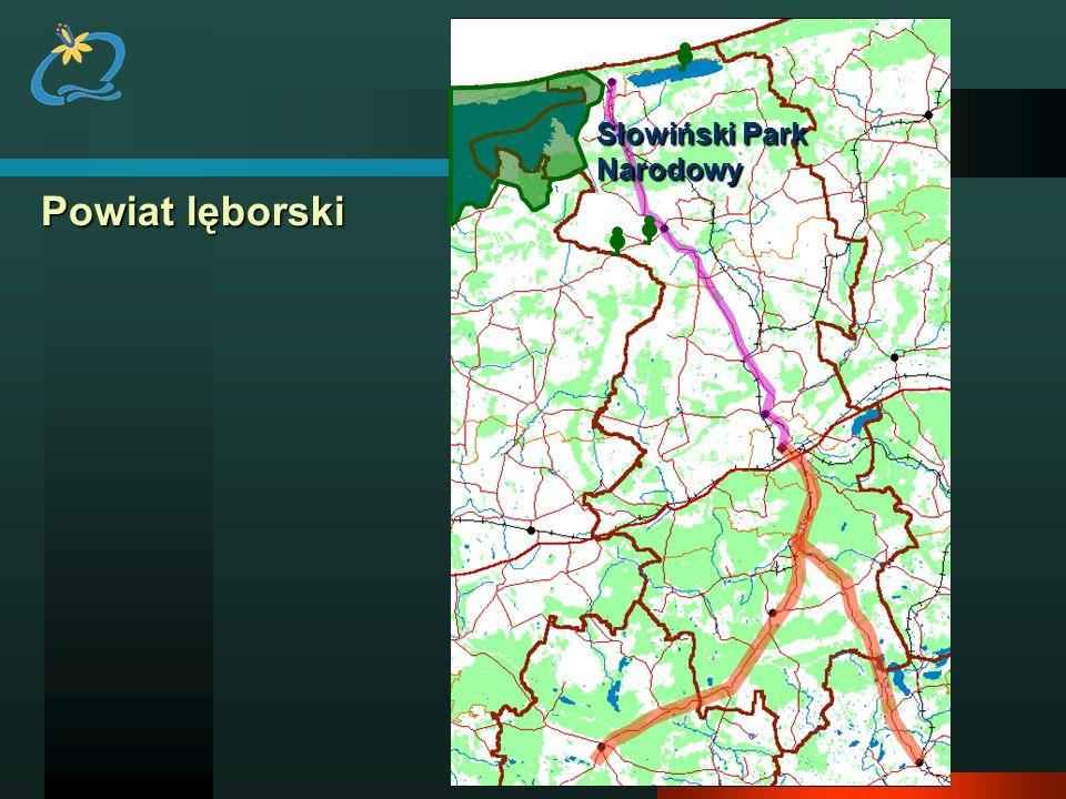 Powiat lęborski Słowiński Park Narodowy