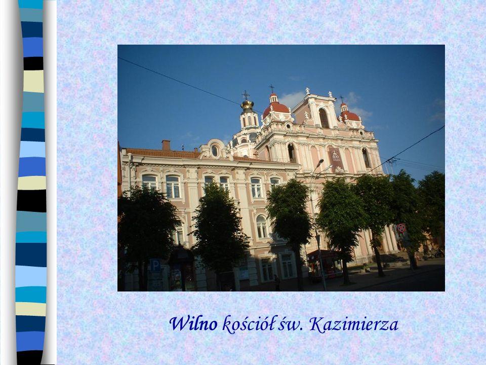 Wilno kościół św. Kazimierza