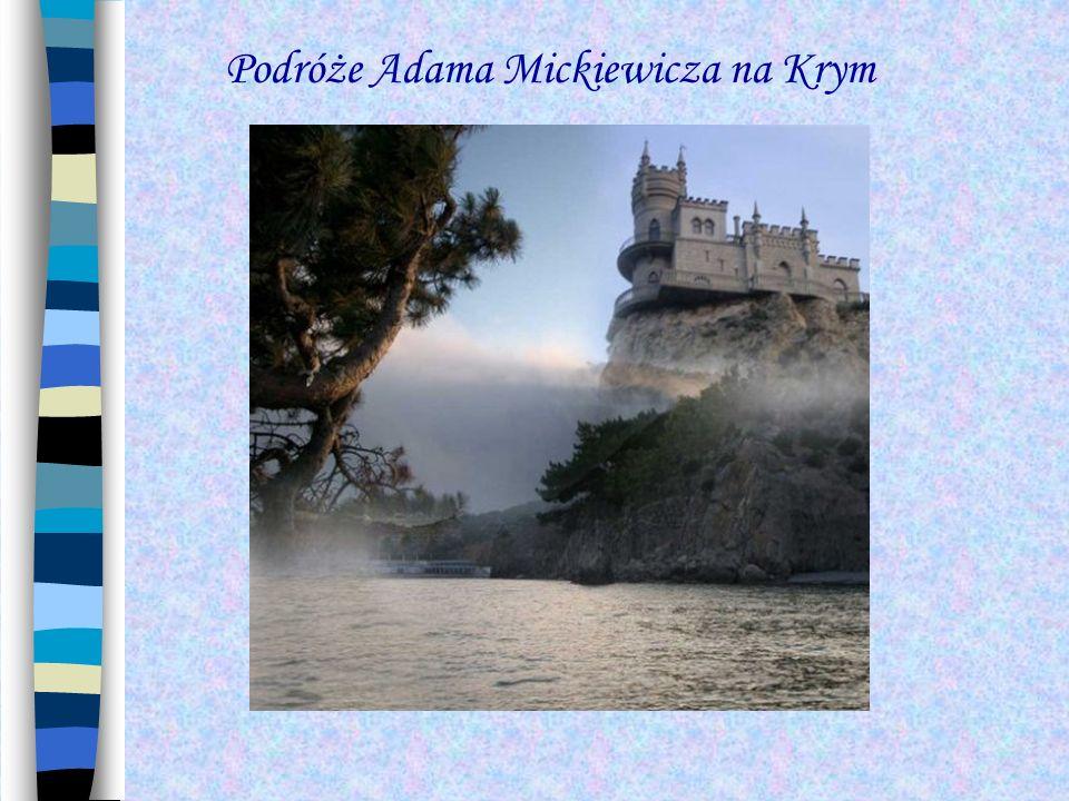 Podróże Adama Mickiewicza na Krym