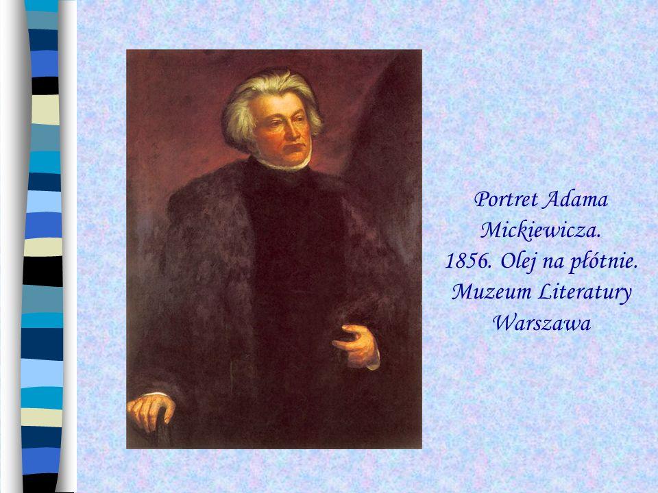 Adam Mickiewicz Adam Mickiewicz najwybitniejszy twórca romantyczny, poeta, publicysta, działacz polityczny.