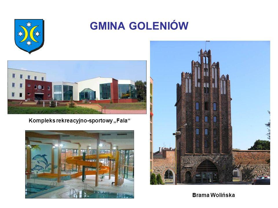 GMINA GOLENIÓW Kompleks rekreacyjno-sportowy Fala Brama Wolińska