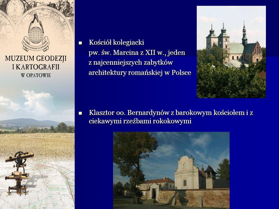 Kościół kolegiacki Kościół kolegiacki pw. św. Marcina z XII w., jeden pw. św. Marcina z XII w., jeden z najcenniejszych zabytków z najcenniejszych zab