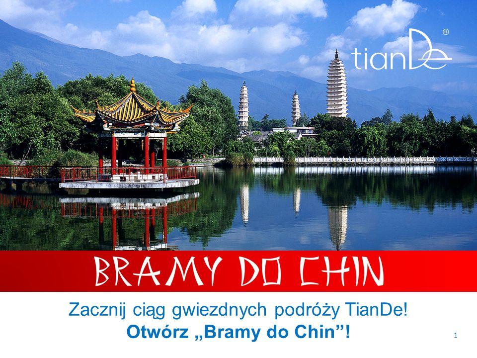 1 Zacznij ciąg gwiezdnych podróży TianDe! Otwórz Bramy do Chin!