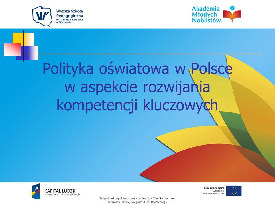 Proces uczenia się Edukacja formalna Edukacja pozaformalna Edukacja nieformalna Projekt jest współfinansowany ze środków Unii Europejskiej w ramach Europejskiego Funduszu Społecznego