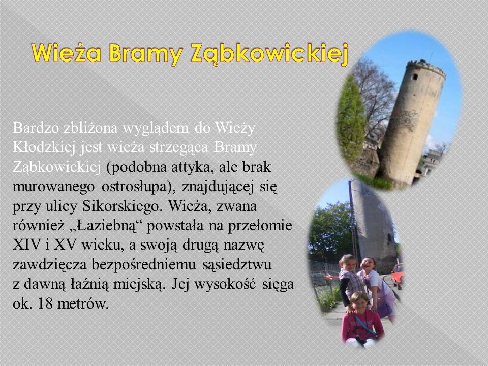 Wieża Bramy Nyskiej Brama miejska przy ulicy Wojska Polskiego zwana jest Nyską i prowadzi z miasta w kierunku Nysy.