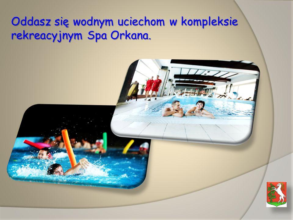 Oddasz się wodnym uciechom w kompleksie rekreacyjnym Spa Orkana.