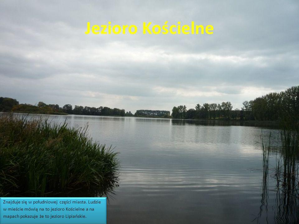 Jezioro Kościelne Znajduje się w południowej części miasta.