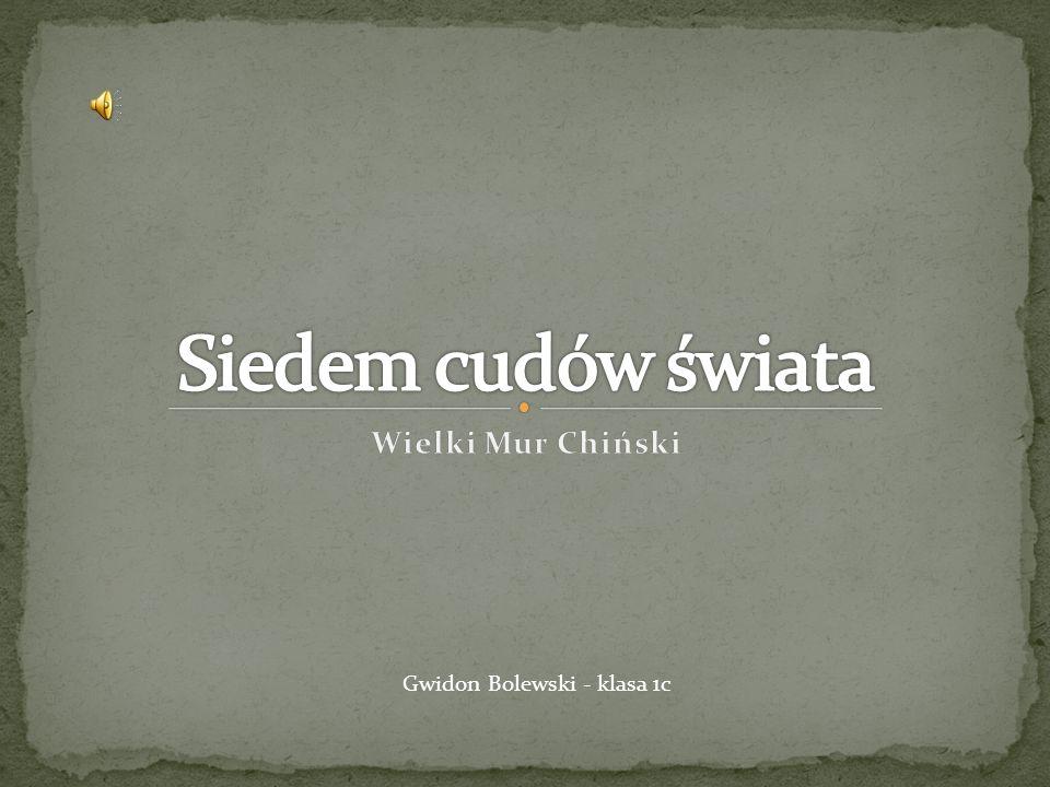 Gwidon Bolewski - klasa 1c