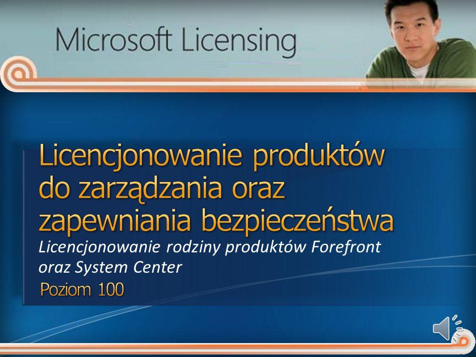 Agent Microsoft Forefront Client Security Ochrona przed złośliwym oprogramowaniem Microsoft Forefront Client Security Management Console - konsola do zarządzania