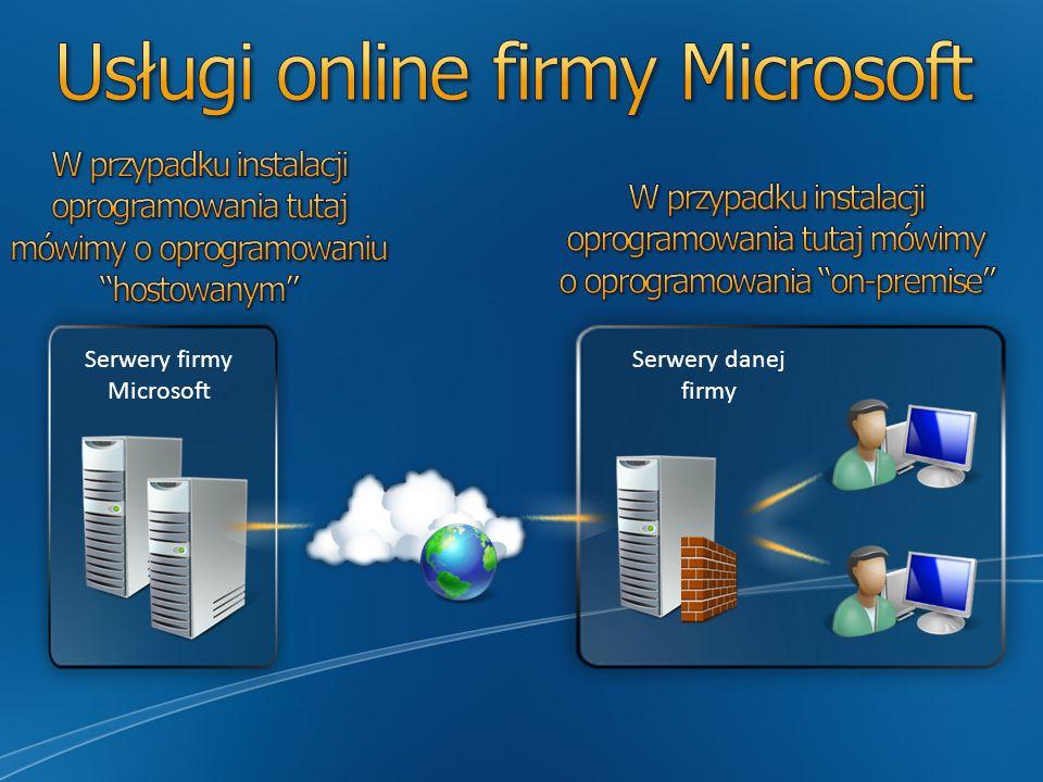 Aplikacje serwerowe Brzeg System operacyjny na kliencie i serwerze
