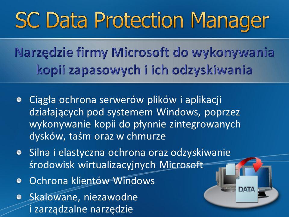 Serwery danej firmy Serwery firmy Microsoft