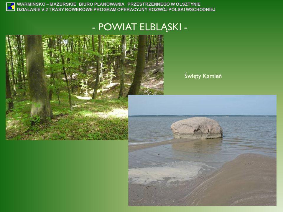 - POWIAT ELBLĄSKI - Święty Kamień