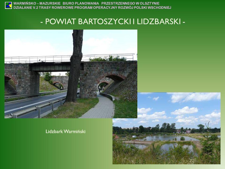 - POWIAT BARTOSZYCKI I LIDZBARSKI - Lidzbark Warmiński
