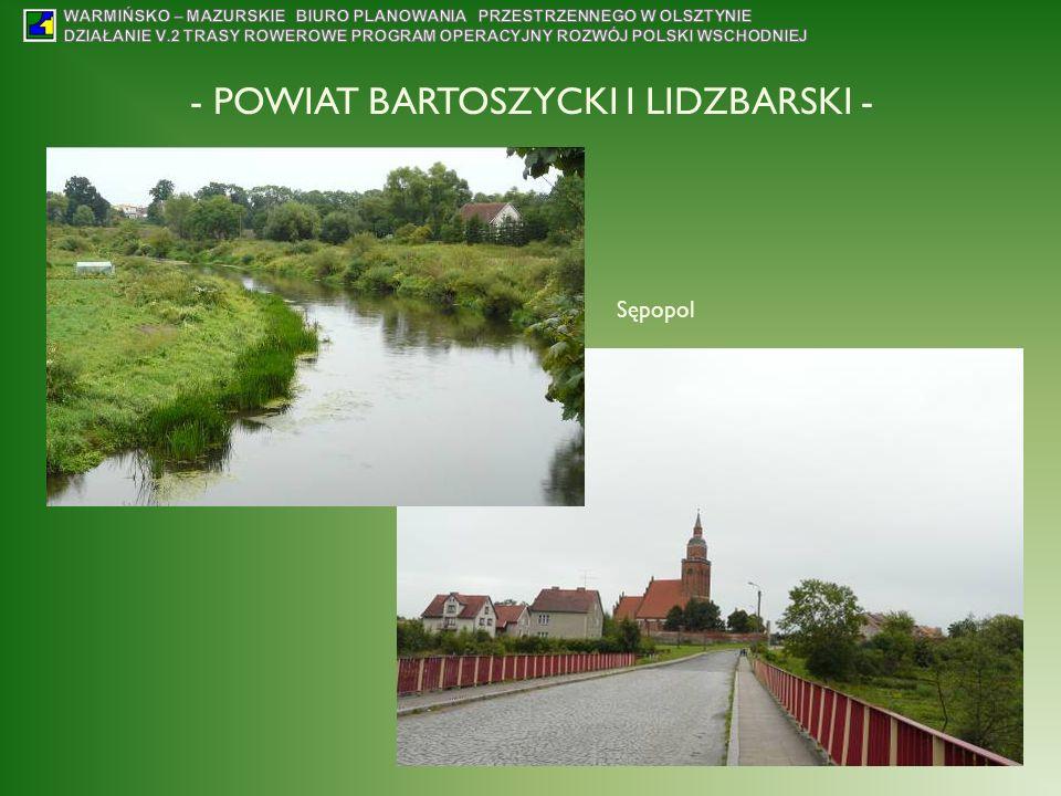 - POWIAT BARTOSZYCKI I LIDZBARSKI - Sępopol