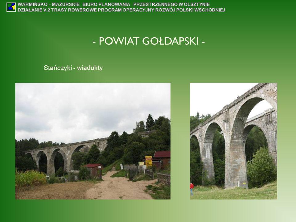 - POWIAT GOŁDAPSKI - Stańczyki - wiadukty