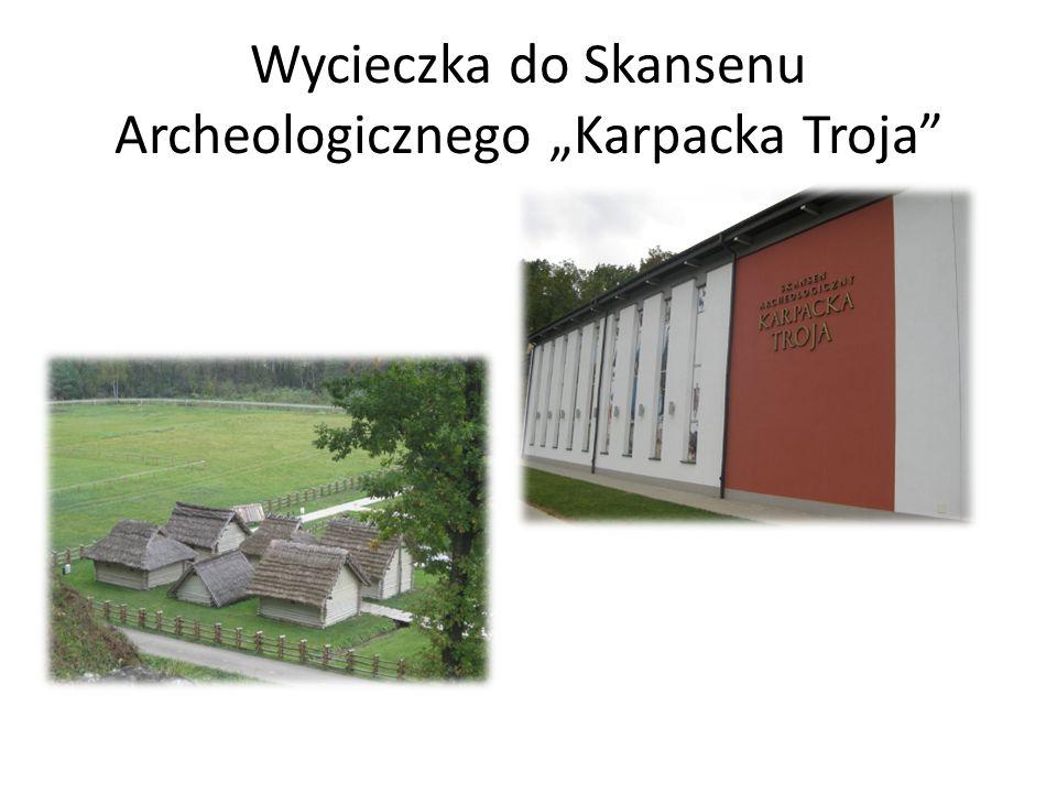 Wycieczka do Skansenu Archeologicznego Karpacka Troja