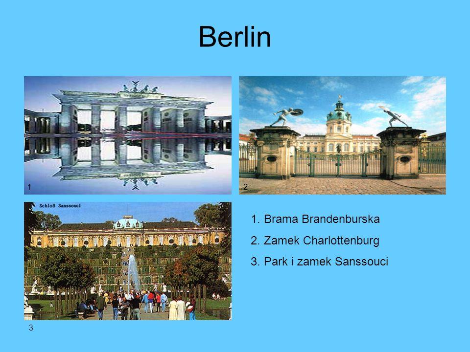 Panoramy 1. Monachium 2. Port w Hamburgu 3. Bonn 12 3
