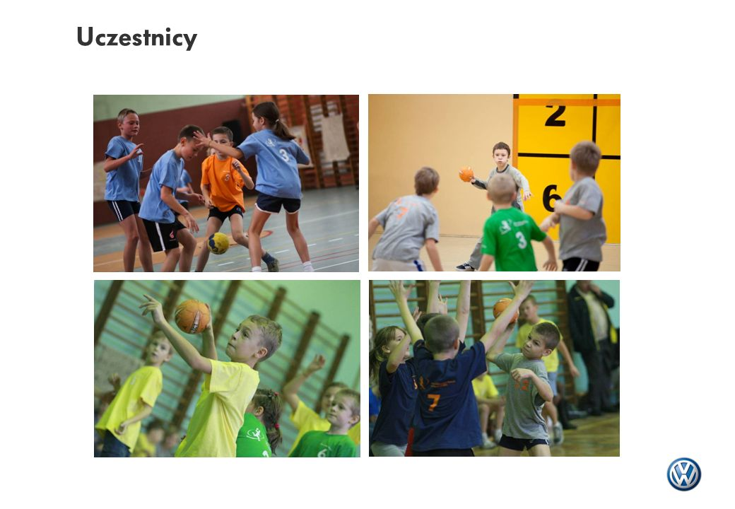 Dodatkowe założenia programu Szkoły uczestniczące w programie otrzymują od Volkswagen Poznań: - materiały dydaktyczne i szkoleniowe (broszury i płyty CD) - piłki do gry w Mini Handball - odzież sportową dla zawodników i trenerów Program obejmuje szkolenie fachowe dla trenerów