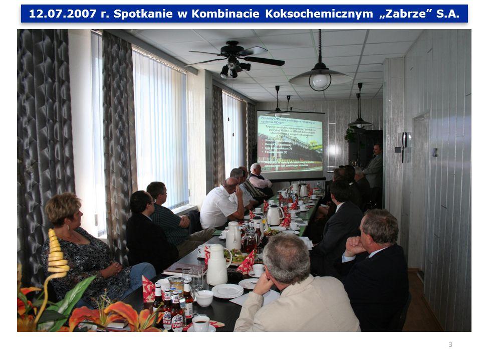 Efektem spotkania było podpisanie w dniu 03.01.2008 r.