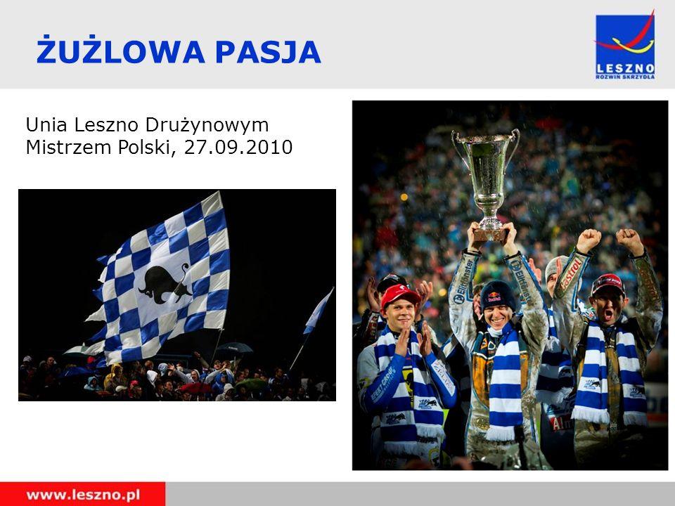 ŻUŻLOWA PASJA Unia Leszno Drużynowym Mistrzem Polski, 27.09.2010