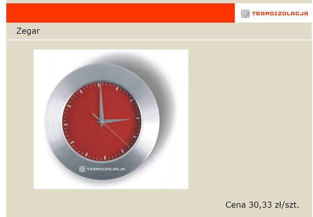 Zegar Cena 30,33 zł/szt.
