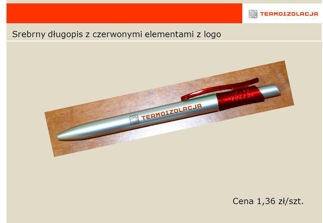 Tuba z logo + długopis wielofunkcyjny z grawerem Cena za szt.: - Etui z logo 5,85 zł - Długopis (z funkcja ołówka, kolor czerwony, niebieski) 13,9 zł