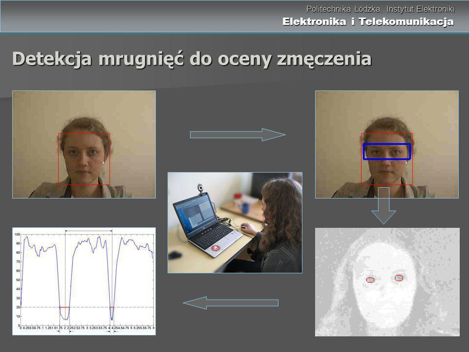 Politechnika Łódzka, Instytut Elektroniki Elektronika i Telekomunikacja Politechnika Łódzka, Instytut Elektroniki Elektronika i Telekomunikacja Detekc