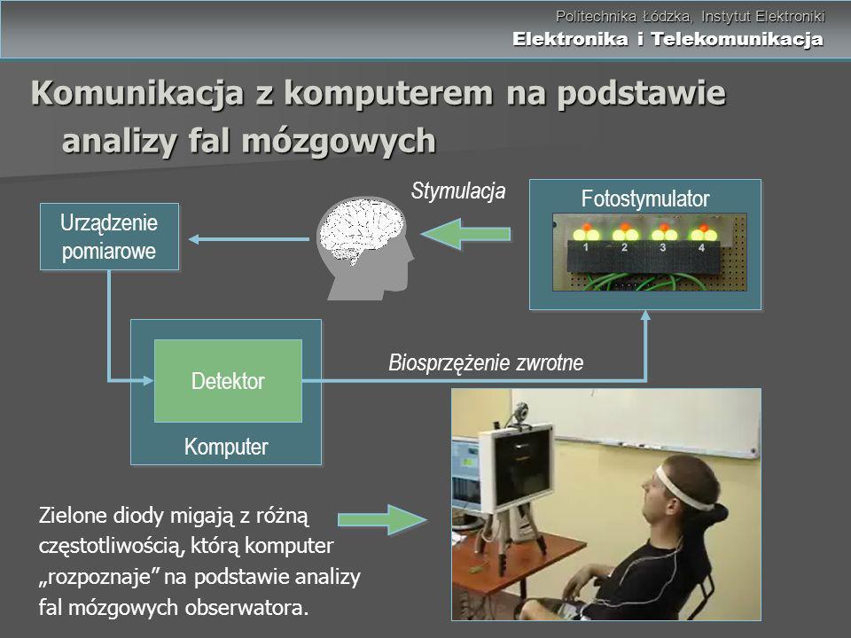Politechnika Łódzka, Instytut Elektroniki Elektronika i Telekomunikacja Politechnika Łódzka, Instytut Elektroniki Elektronika i Telekomunikacja Komuni