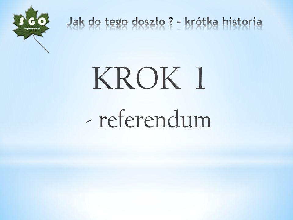 KROK 1 - referendum
