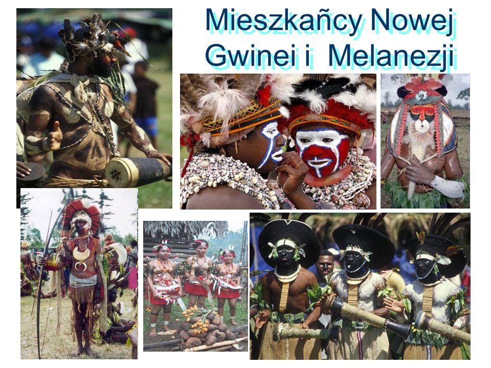 Mieszkañcy Nowej Gwinei i Melanezji