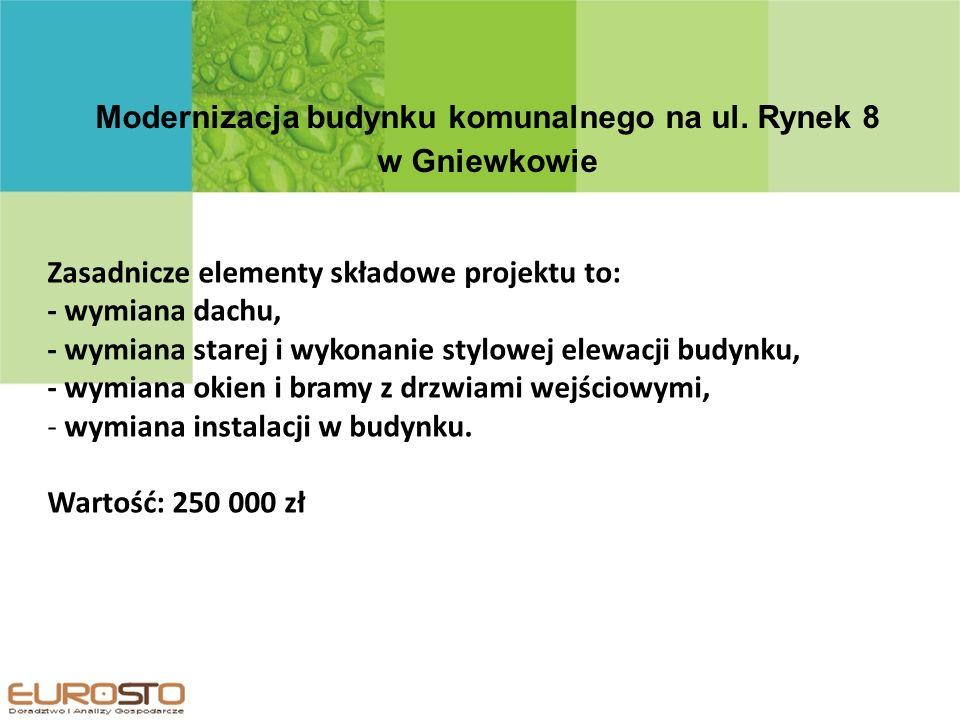 Modernizacja budynku komunalnego na ul.