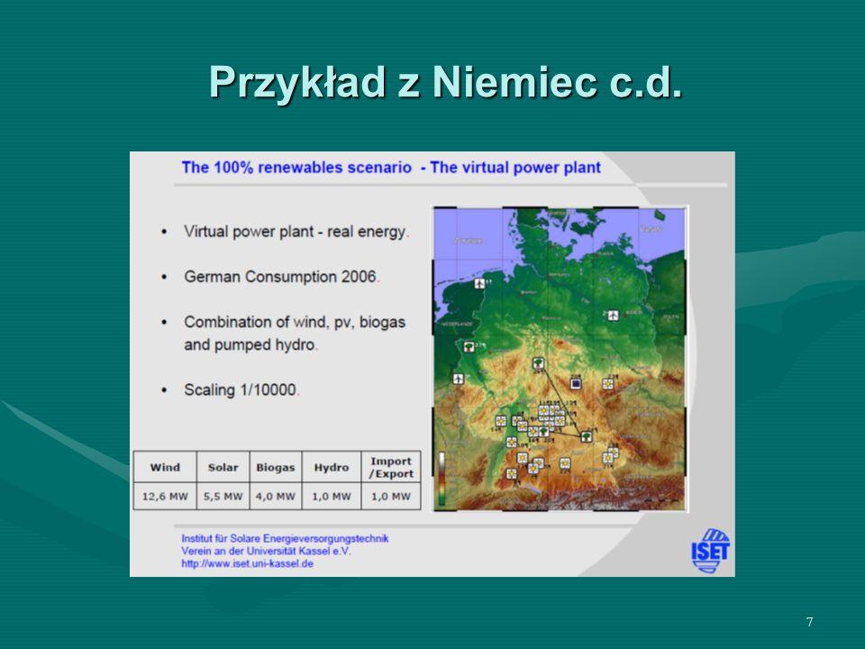 7 Przykład z Niemiec c.d.