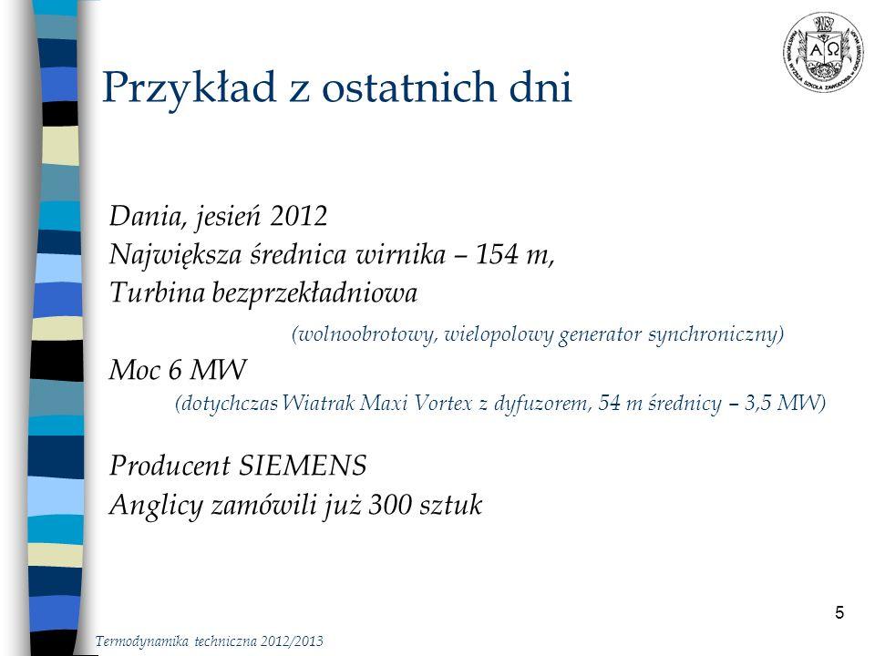 26 Cykl Carnota Termodynamika … Termodynamika techniczna 2012/2013