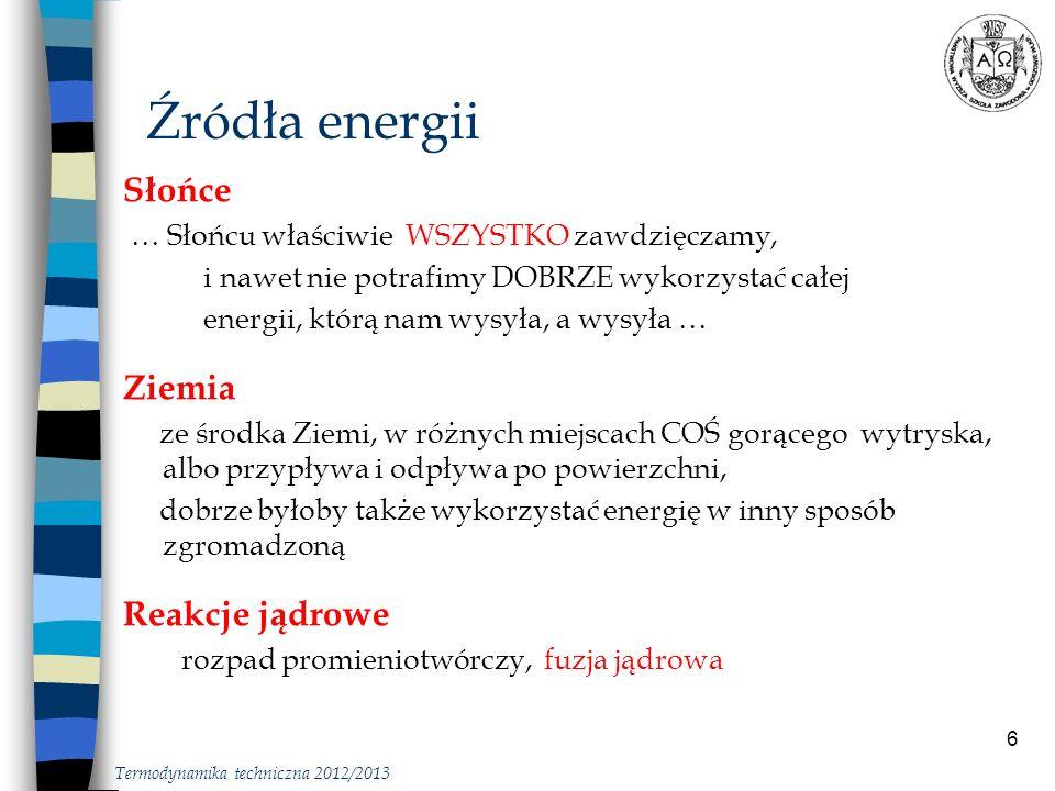 7 Źródła energii … słońce Z.Kusto, Wykorzystanie energii słonecznej, Polit.