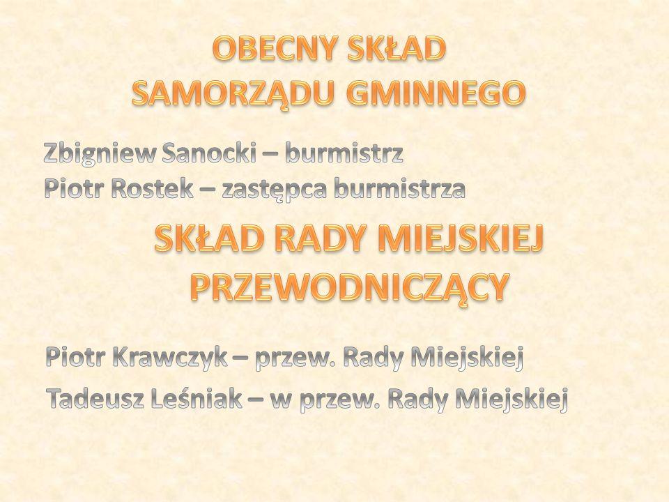 - Witam.W tym roku obchodzimy dwudziestą rocznicę istnienia Samorządu Gminy Jedlicze.