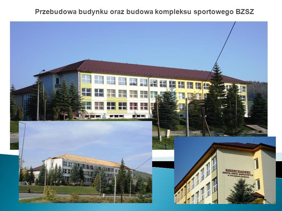 Przebudowa budynku oraz budowa kompleksu sportowego BZSZ