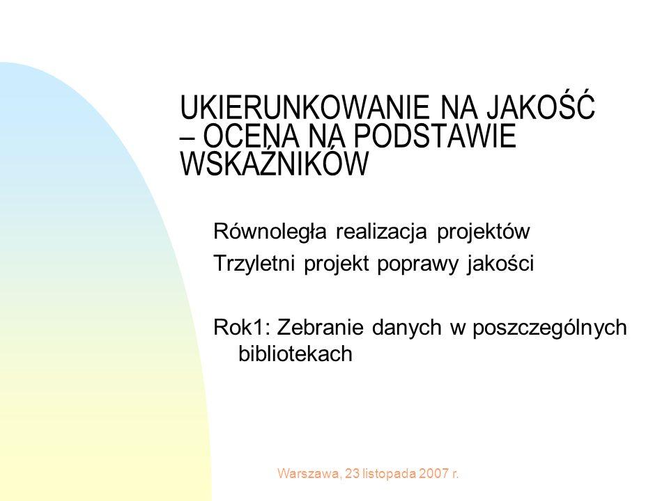 Warszawa, 23 listopada 2007 r.