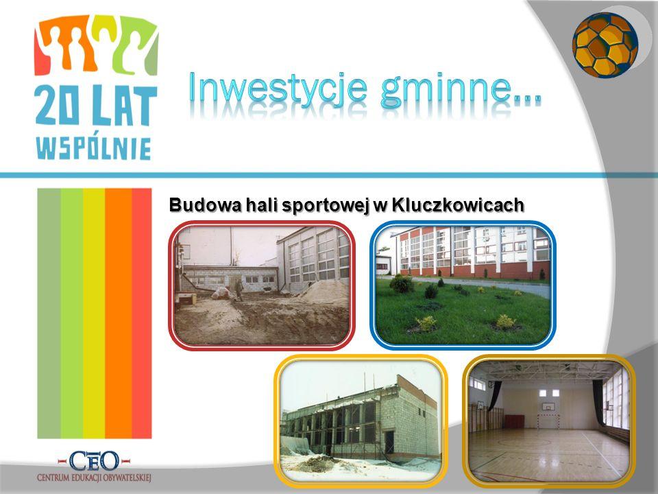 Budowa hali sportowej w Kluczkowicach