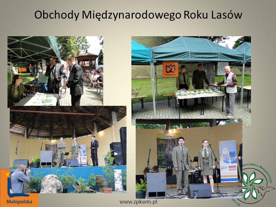 Obchody Międzynarodowego Roku Lasów www.zpkwm.pl