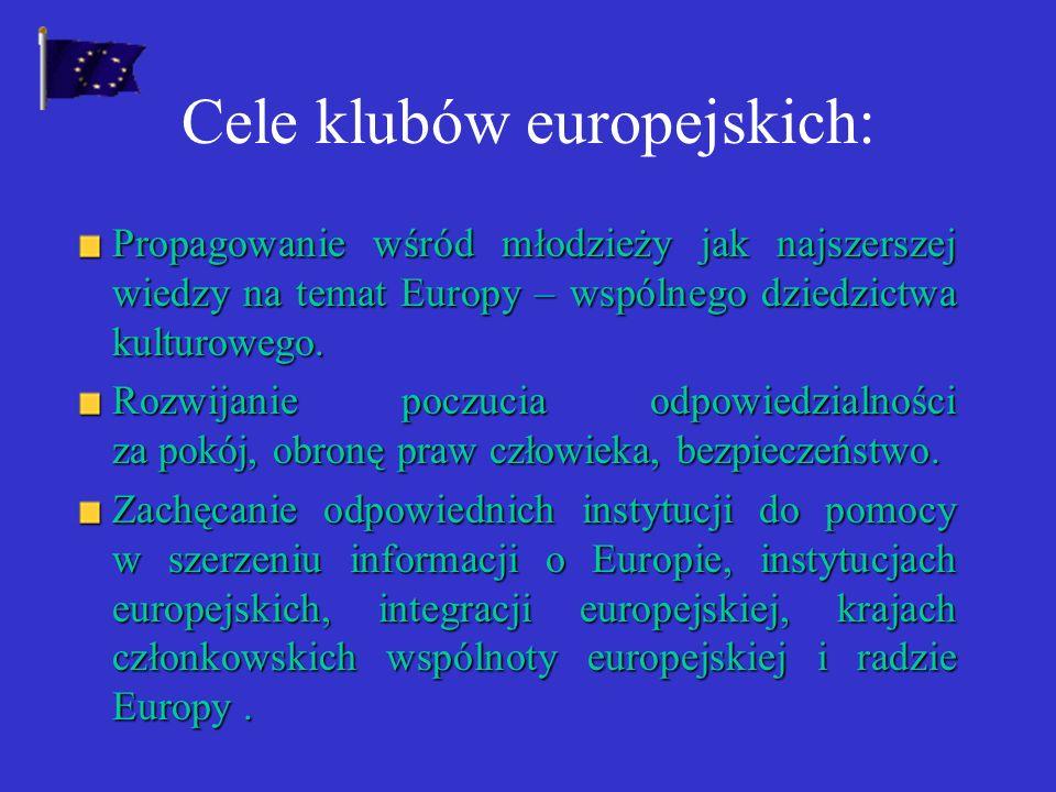 SZKOLNE KLUBY EUROPEJSKIE