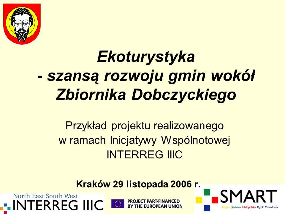 Partner Wiodący (FAMCP) Sekretariat Techniczny SMART w Lipsku NET - Rural Fuendetodos (Lider podprojektu) DobczyceGrosposna Zachodnia Macedonia AragoniaMałopolskaSaksonia INTERREG III C