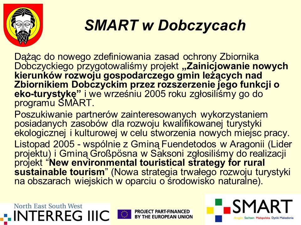 SMART w Dobczycach Dążąc do nowego zdefiniowania zasad ochrony Zbiornika Dobczyckiego przygotowaliśmy projekt Zainicjowanie nowych kierunków rozwoju g
