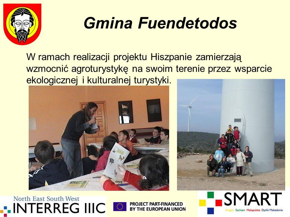 Gmina Fuendetodos W ramach realizacji projektu Hiszpanie zamierzają wzmocnić agroturystykę na swoim terenie przez wsparcie ekologicznej i kulturalnej